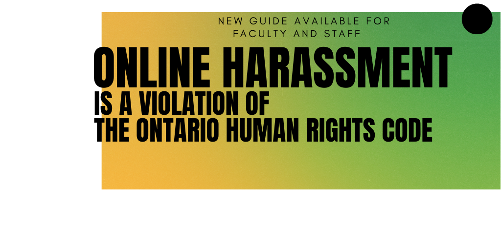 Online Harassment Resource