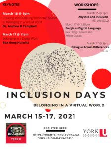 Inclusion Days: Respectful Dialogue Across Difference