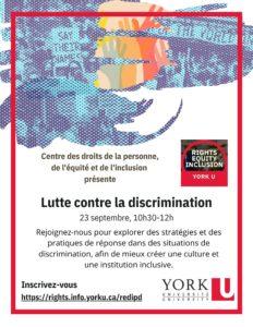 Lutte contre la discrimination @ Zoom